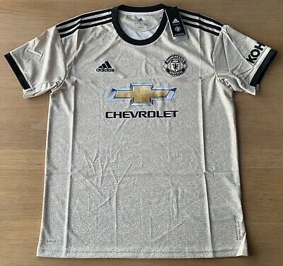 100% Genuine Manchester United Away Shirt 2019 /20 Mens Large BNWT RRP £64.99.