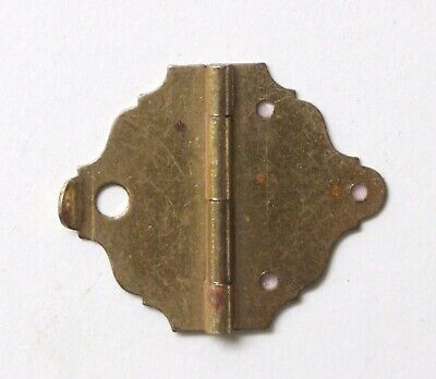 Tiny Brass Vintage Box Hinge