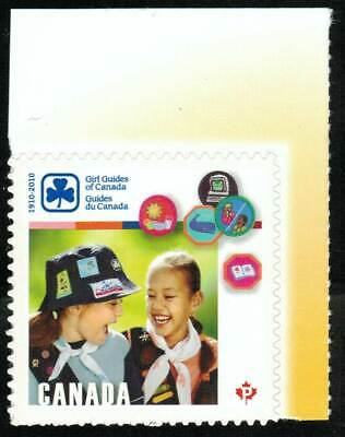 Canada sc#2402 Girl Guides of Canada, Unit from Booklet Bk433, Mint-NH