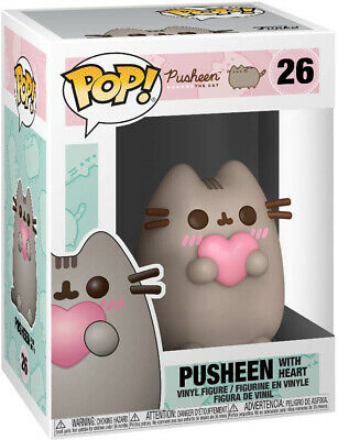 Pop Animation 3.75 Inch Action Figure Pusheen The cat - Pusheen with Heart #26