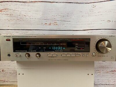 1987 Luxman R-404 Digital Synthesizer Stereo Receiver Tested