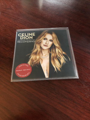 Celine Dion - Recovering - 1 Track Brazilian Cd Promo - New