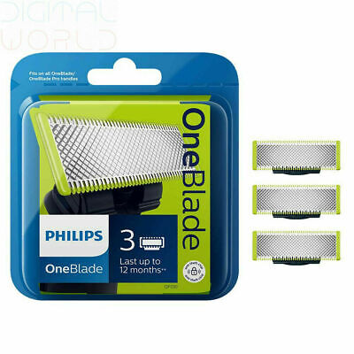 Philips OneBlade Replacement Blades - Triple 3 Pack GENUINE