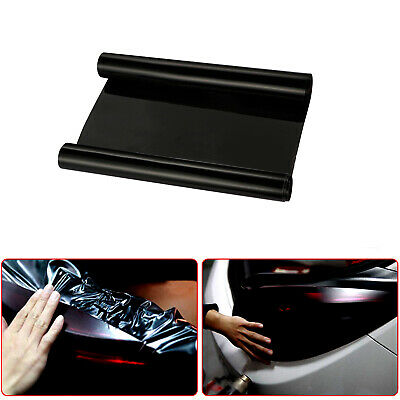 Car Sticker Tint Auto Smoke Fog Light HeadLight Taillight Vinyl Sheet Film Black