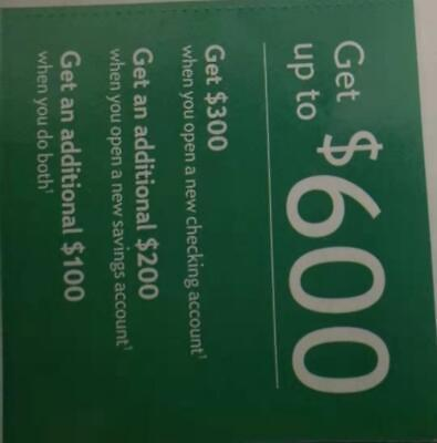 Citizens Bank promotion coupon for up to $600 exp 4/30/20