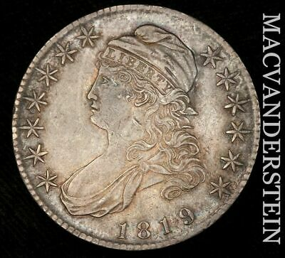 1819 Capped Bust Half Dollar - Almost Uncirculated!!  Better Date!!  #H4623