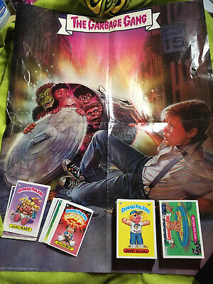 Garbage Pail Kids 1986 1988 W 1st Series GPK LOT Of 100 Topps Cards And Poster
