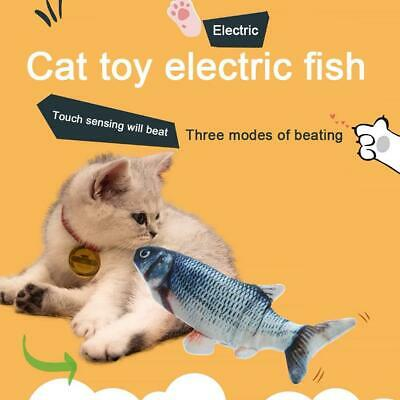 Electric Cat Wagging Fish Realistic Plush Simulation Carp Doll Fish Toy Hot