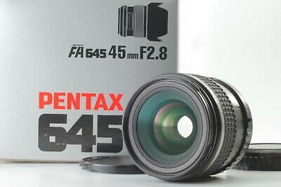 [Mint in BOX] PENTAX 645 FA 45mm F2.8 Wide Angle Lens For N Nii From JAPAN