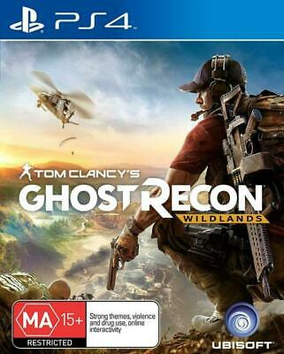 Brand new in plastic. Tom Clancy's Ghost Recon: Wildlands (PlayStation 4, 2017)