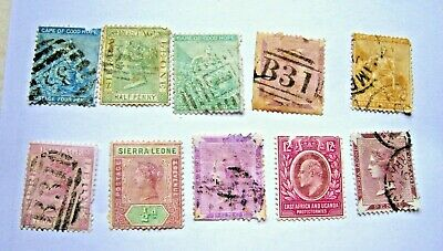 Qv & Kevii Selection Of Commonwealth Space Fillers.  Lot#337