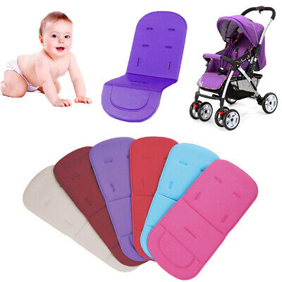 Baby Stroller Seat Liner Pram Cushion Padding Crawl Pushchair Car Seat Mats Soft