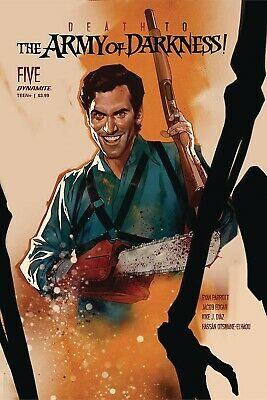 Death to Army of Darkness #1 Select A B C D & Incentive Covers NM 2020 Dynamite