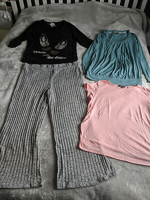 Maternity Clothes Bundle - Size 16/18 - Joggers and Tops (5 items)