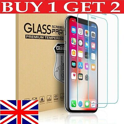 iPhone 7 Glass Screen Protector Tempered Cover For Apple 100% Genuine Clear