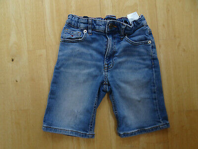 TOMMY HILFIGER boys blue denim jeans shorts AGE 8 YEARS AUTHENTIC