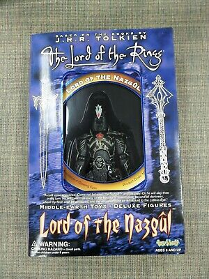 Toy Vault Lord of the Nazgul Black Captain ME010 1999 LOTR Rings Middle-Earth