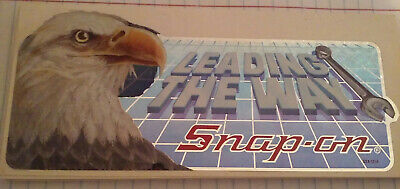 """Vintage Snap On Tools """"Leading The Way'' Bald Eagle Sticker"""