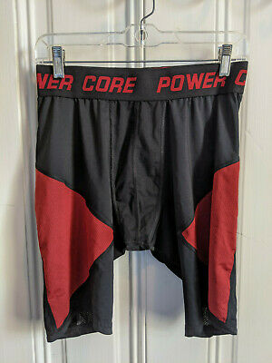 C9 by Champion Power Core Long Compression Briefs Shorts Black Gray Blue