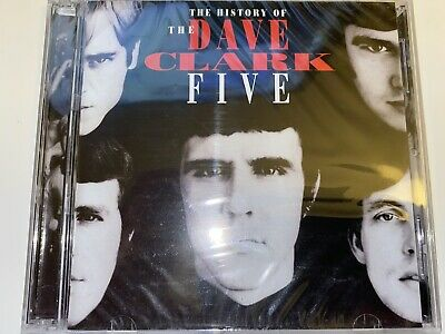 The History of THE DAVE CLARK FIVE - 2 CDs - 50 Songs - SEALED!