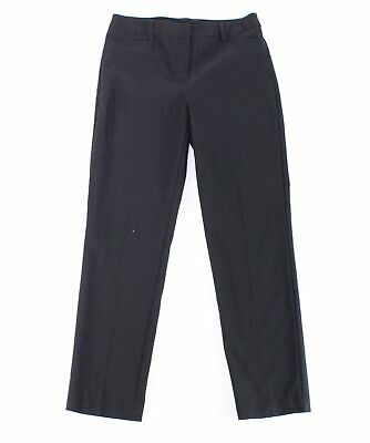 Tribal Womens Pants Ink Black Size 8 Dress Mid-Rise Solid Stretch $58 026