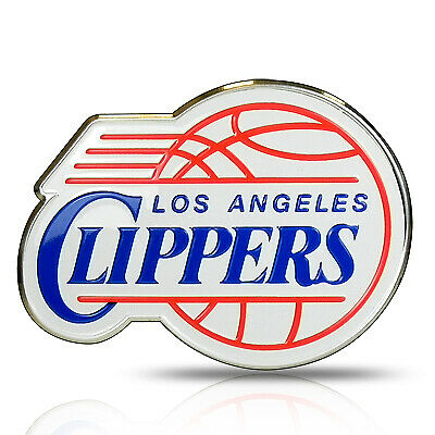Los Angeles Clippers Aluminum Full-Color Auto Car Emblem