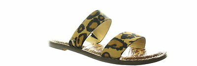 Sam Edelman Womens Gala New Nude Leopard Sandals Size 7 (936817)