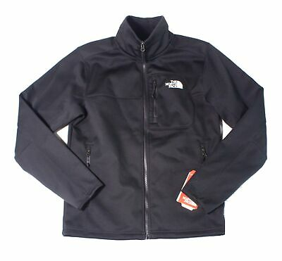 The North Face Mens Jacket Black Size Small S Fleece Lined Mock-Neck $149 175
