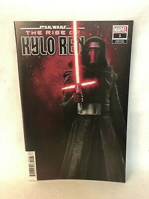 Marvel Star Wars Rise Kylo Ren #1 1:10 Movie Photo Variant Cover
