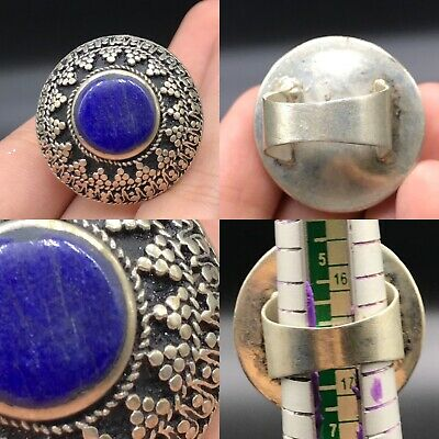 Ancient Near Eastern Authentic Lapis Ring  - Old -