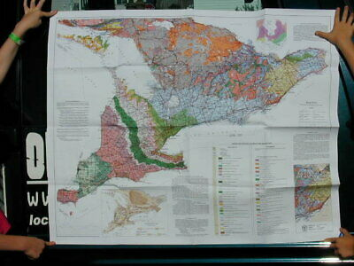 Geology Of Southern Ontario Travel Map