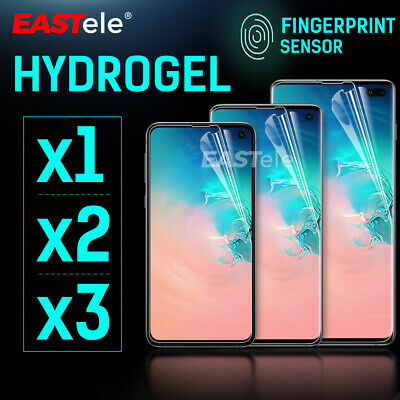 EASTele Samsung Galaxy S20 Ultra S10 5G Plus Note 10 HYDROGEL Screen Protector