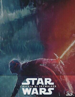 Star Wars. L'ascesa di Skywalker 3D (2019) s.e. 3 Blu Ray metal box PRENOTAZIONE
