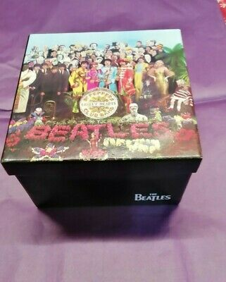The Beatles Sgt Peppers Lonely Hearts Club Band Empty Box