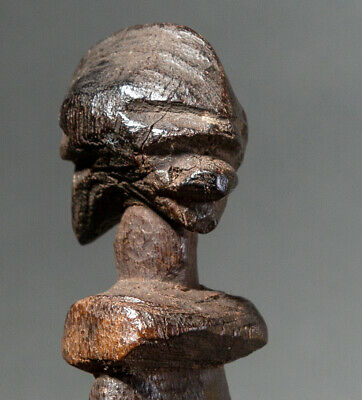 Tribalspace-  A Janus Divination Instrument From Lobi  People Of Burkina Faso
