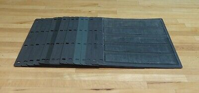 5 STRIP Hagner/Vario Style Single Sided Stock Pages x 15. (1)