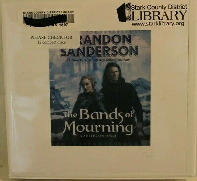 Brandon Sanderson The Bands of Mourning: A Mistborn Novel Book On CD