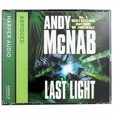 Last Light by Andy McNab (Audiobook CD)