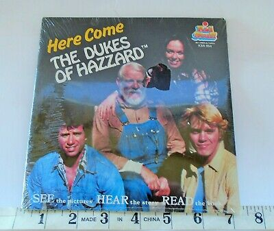 Here Come The Dukes Of Hazzard 1981 Kid Stuff See Hear Read Book & Record Sealed