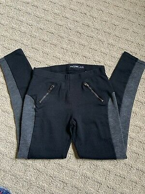 Black Pants leggings by Abercrombie Kids, Size 11/12 Pre Owned