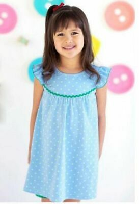 Matilda Jane BLUEBERRY PEARL Dress Girls Size 8 NWT Happy & Free