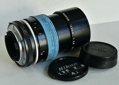 Nikon Nikkor Manual Focus 135mm f2.8 Ai Lens USED Film Cameras & SOME digital