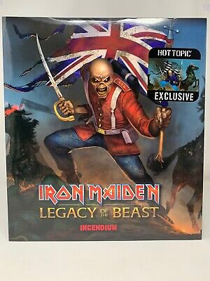 Iron Maiden Legacy Of The Beast Trooper Eddie 1:10 Scale Statue Hot Topic Us Var