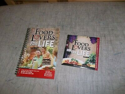 Food Lovers For Life Book & Cd ~ Never Used