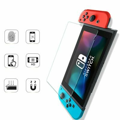For Nintendo Switch Premium Ultra Clear Tempered Glass Screen Protector Guard