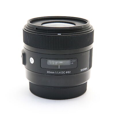 SIGMA  A 30mm F1.4 DC HSM (for Canon EF-S mount) #172