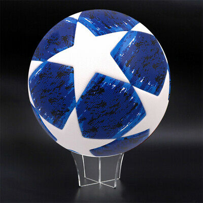 Clear Acrylic Cricket Ball Display Holder Stand Perspex Riser Plinth Ball New