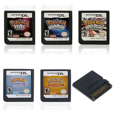 Pokemon Heart Gold/Soul Silver Version Game Card Fits Nintendo 3DS NDSI NDS Lite