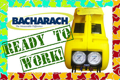 Bacharach Stinger Model 2000 Refrigerant Recovery System ready to work!