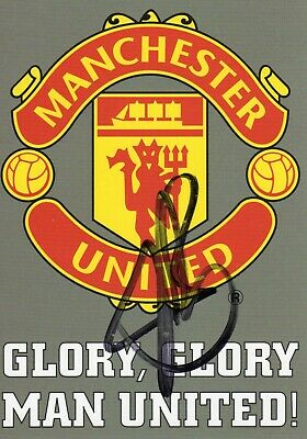 Ruud Van Nistelrooy Autograph, Manchester United, Football, Soccer
